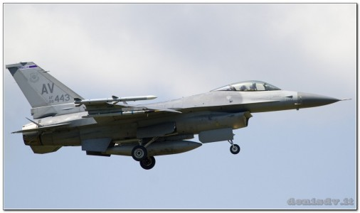 USA – Air Force Lockheed Martin F-16CG Fighting Falcon 88-0443