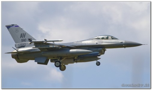 USA – Air Force Lockheed Martin F-16CG Fighting Falcon 88-0510