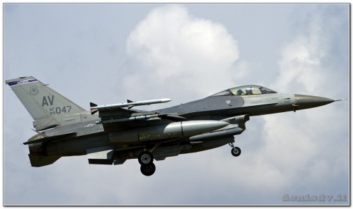 USA – Air Force Lockheed Martin F-16CG Fighting Falcon 89-2047