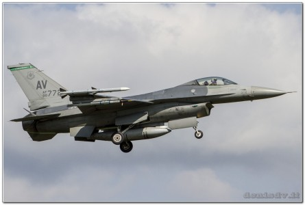 USA – Air Force Lockheed Martin F-16CG Fighting Falcon 90-0772