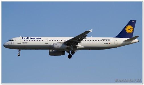 Lufthansa Airbus A321-131 D-AIRN (cn 560)