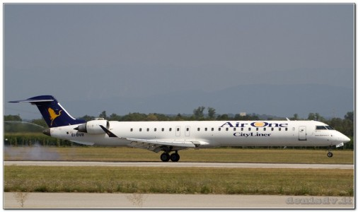 Air One Canadair CL-600-2D24 Regional Jet CRJ-900 EI-DVR (cn 15118)