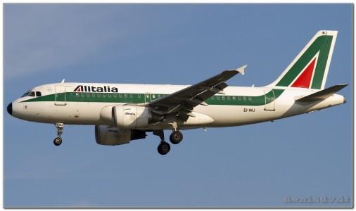 Alitalia Airbus A319-112 EI-IMJ (cn 1779)