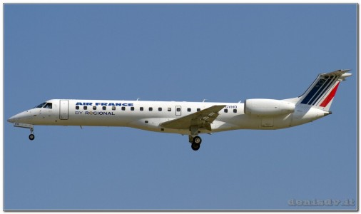 Hop (Air France) Embraer EMB-145MP (ERJ-145MP) F-GVHD (cn 145178)