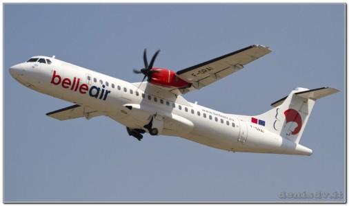 BelleAir ATR ATR-72-500 (ATR-72-212A) F-ORAI (cn 908)