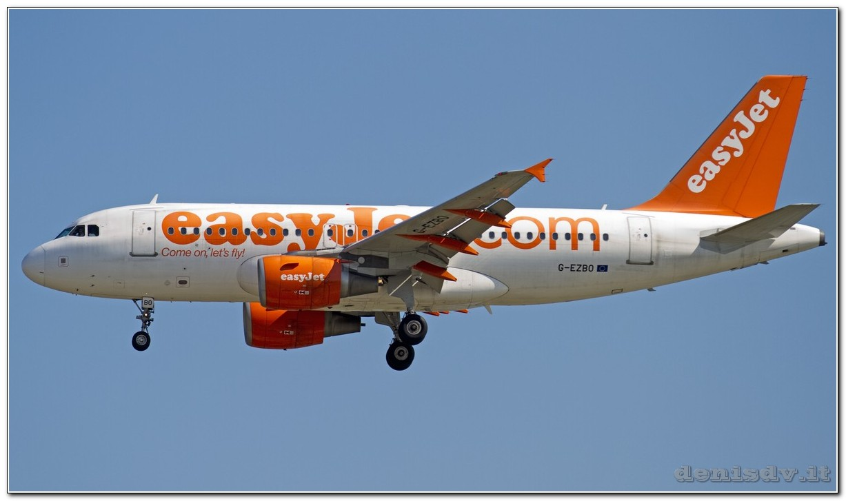 EasyJet Airline Airbus A319-111 G-EZBO (cn 3082)