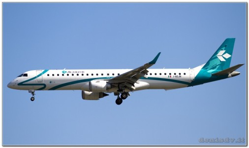 Air Dolomiti Embraer ERJ-190-200LR 195LR I-ADJN (cn 19000270)