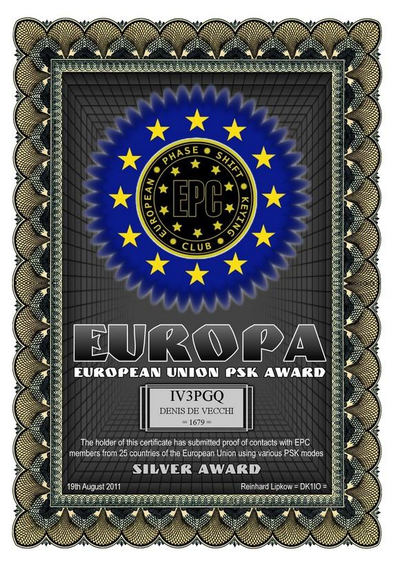 IV3PGQ-EUROPA-SILVER