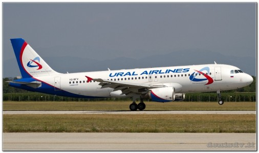 Ural Airlines Airbus A320-214 VQ-BFV (cn 1152)