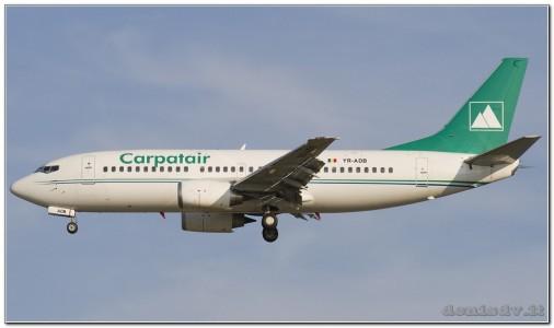 Carpatair Boeing 737-31S YR-ADB (cn 29058/2946)