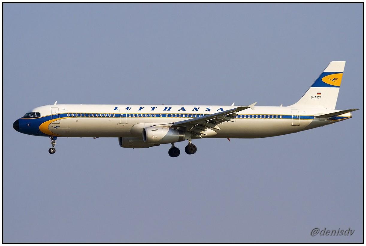 Lufthansa Airbus A321-231 D-AIDV (cn 5413)
