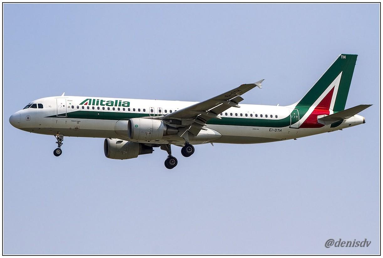 Alitalia Airbus A320-216 EI-DTH (cn 3956)