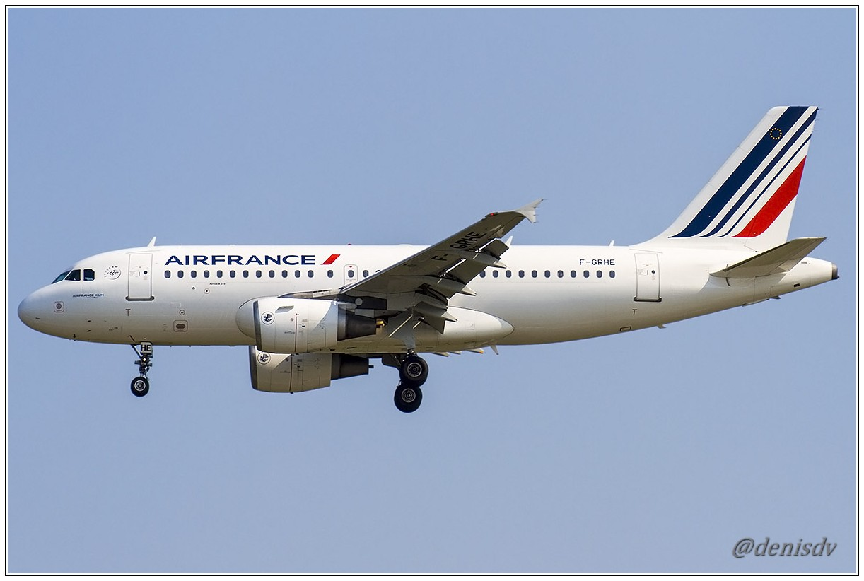 Air France Airbus A319-111 F-GRHE (cn 1020)