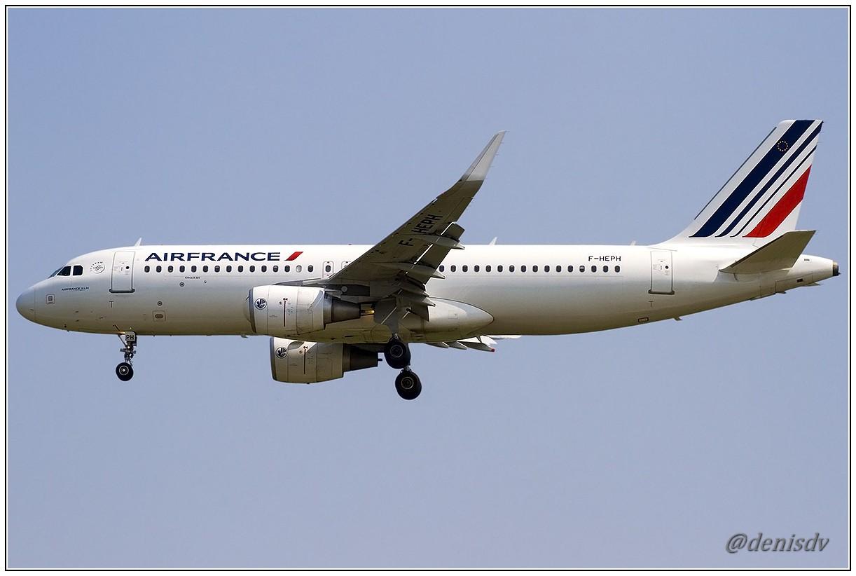 Air France Airbus A320-214 F-HEPH (cn 5869)