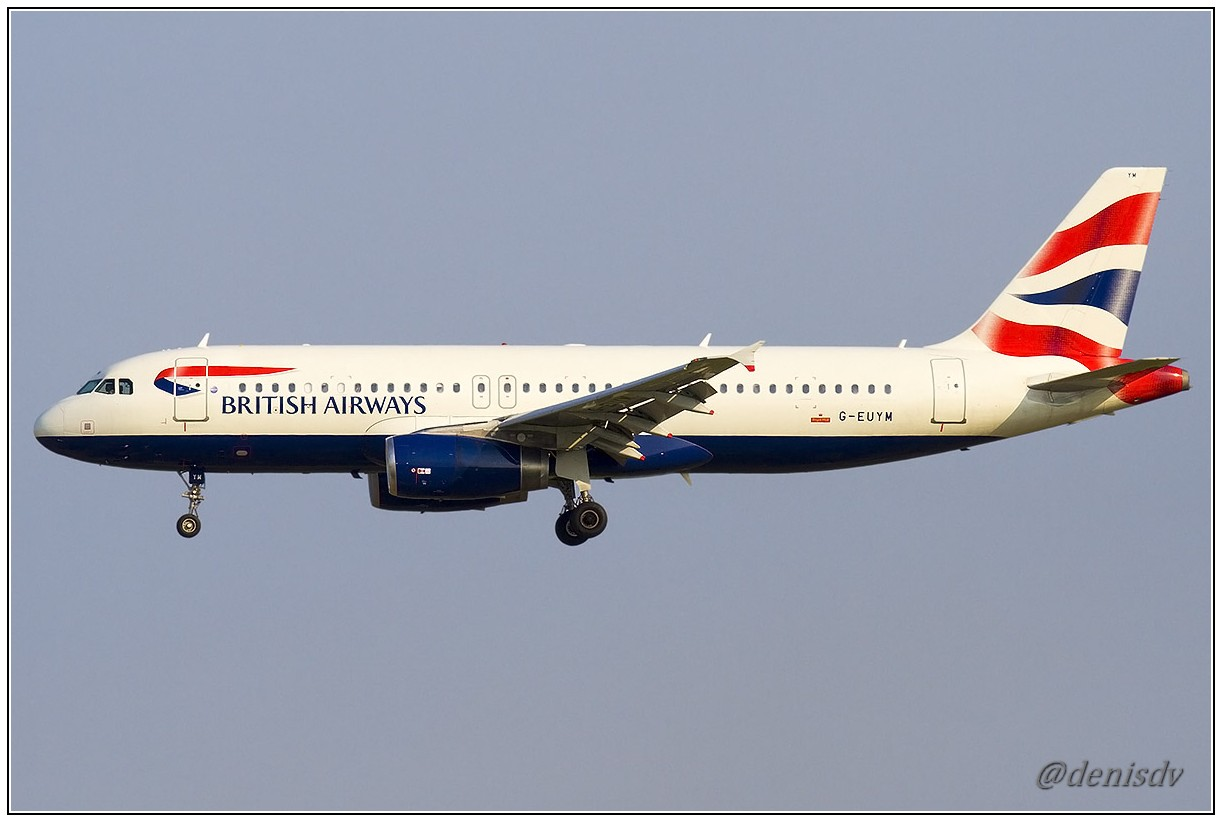 British Airways Airbus A320-232 G-EUYM (cn 4791)