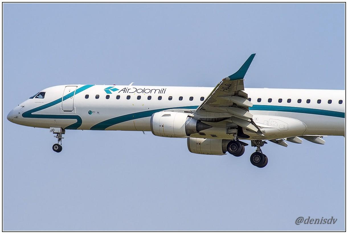 Air Dolomiti Embraer ERJ-190-200LR 195LR I-ADJQ (cn 19000587)