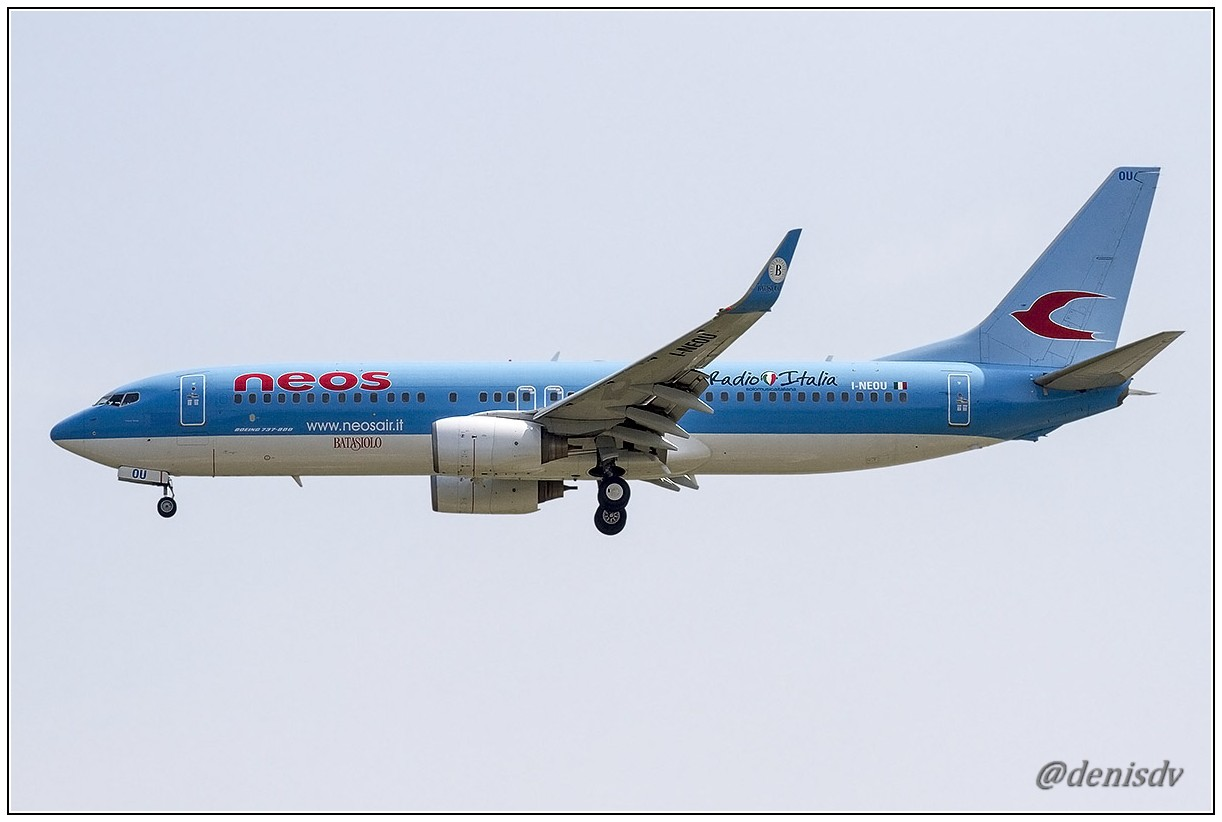 Neos Boeing 737-86N I-NEOU (cn 29887/1263)