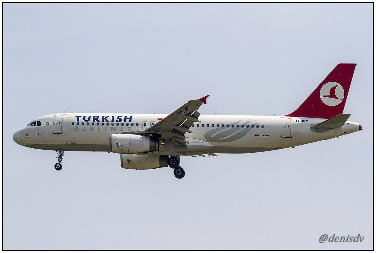 Turkish Airlines Airbus A320-232 TC-JPT (cn 3719)