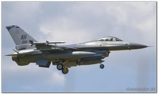USA – Air Force Lockheed Martin F-16CG Fighting Falcon 88-0510