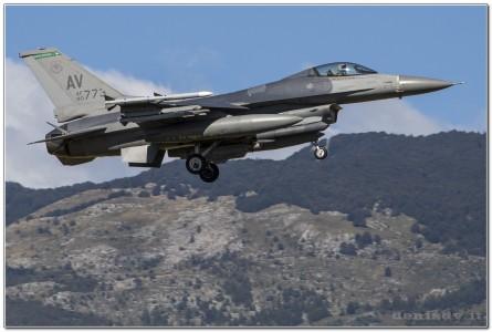 USA – Air Force Lockheed Martin F-16CG Fighting Falcon 90-0773