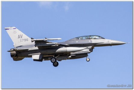 USA – Air Force Lockheed Martin F-16CG Fighting Falcon 90-0796