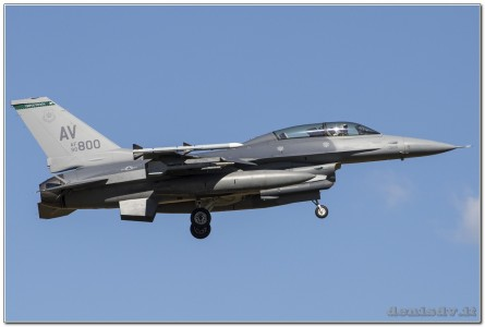 USA – Air Force Lockheed Martin F-16CG Fighting Falcon 90-0800