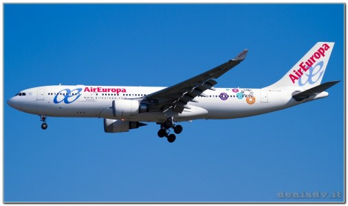 Air Europa Airbus A330-202 EC-KOM (cn 931)