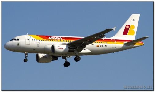 Iberia Airbus A319-111 EC-LEI (cn 3744)