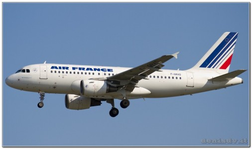 Air France Airbus A319-111 F-GRXD (cn 1699)