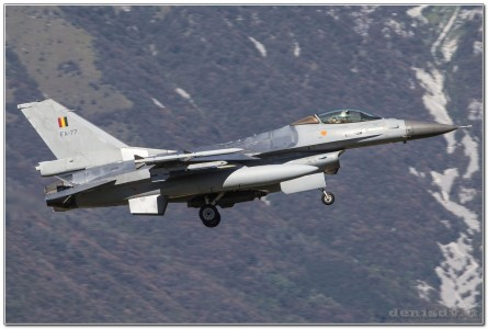 Belgium – Air Force Lockheed Martin F-16AM Fighting Falcon FA-77