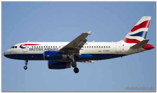 British Airways Airbus A319-131 G-EUPT (cn 1380)