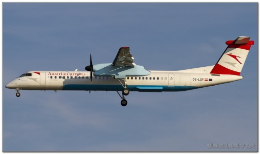 Austrian Airlines (Tyrolean Airways) De Havilland Canada DHC-8-402Q Dash 8 OE-LGF (cn 4068)