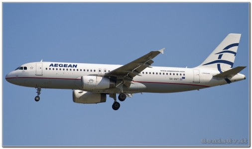 Aegean Airlines Airbus A320-232 SX-DVT (cn 3745)