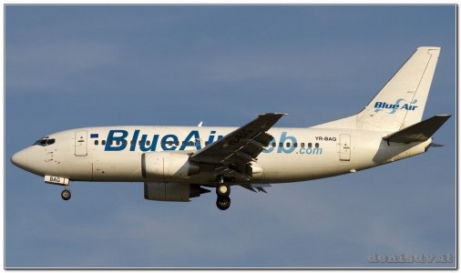 Blue Air Boeing 737-5L9 YR-BAG (cn 24778/1816)