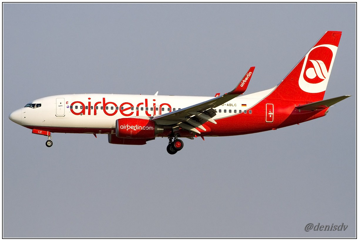 Air Berlin Boeing 737-76J D-ABLC (cn 36116/2730)