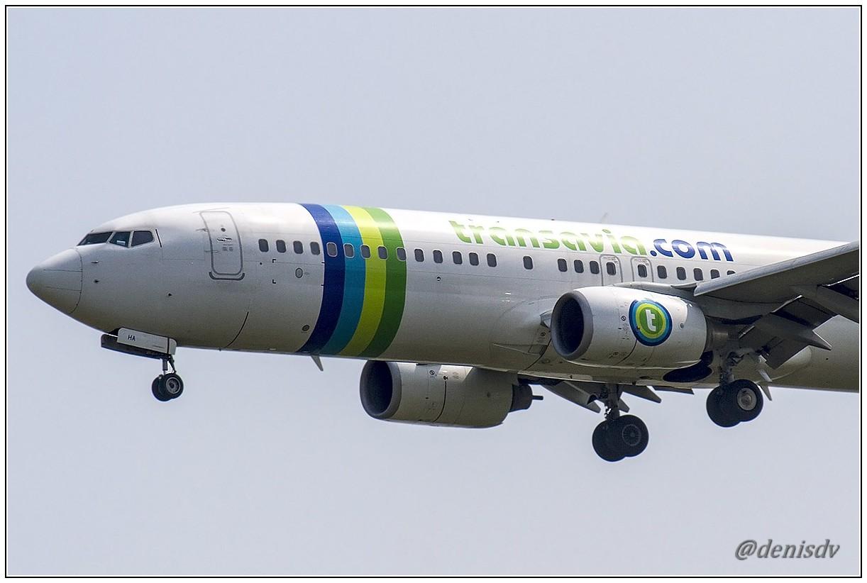 Transavia Airlines Boeing 737-8GJ F-GZHA (cn 34901/2267)