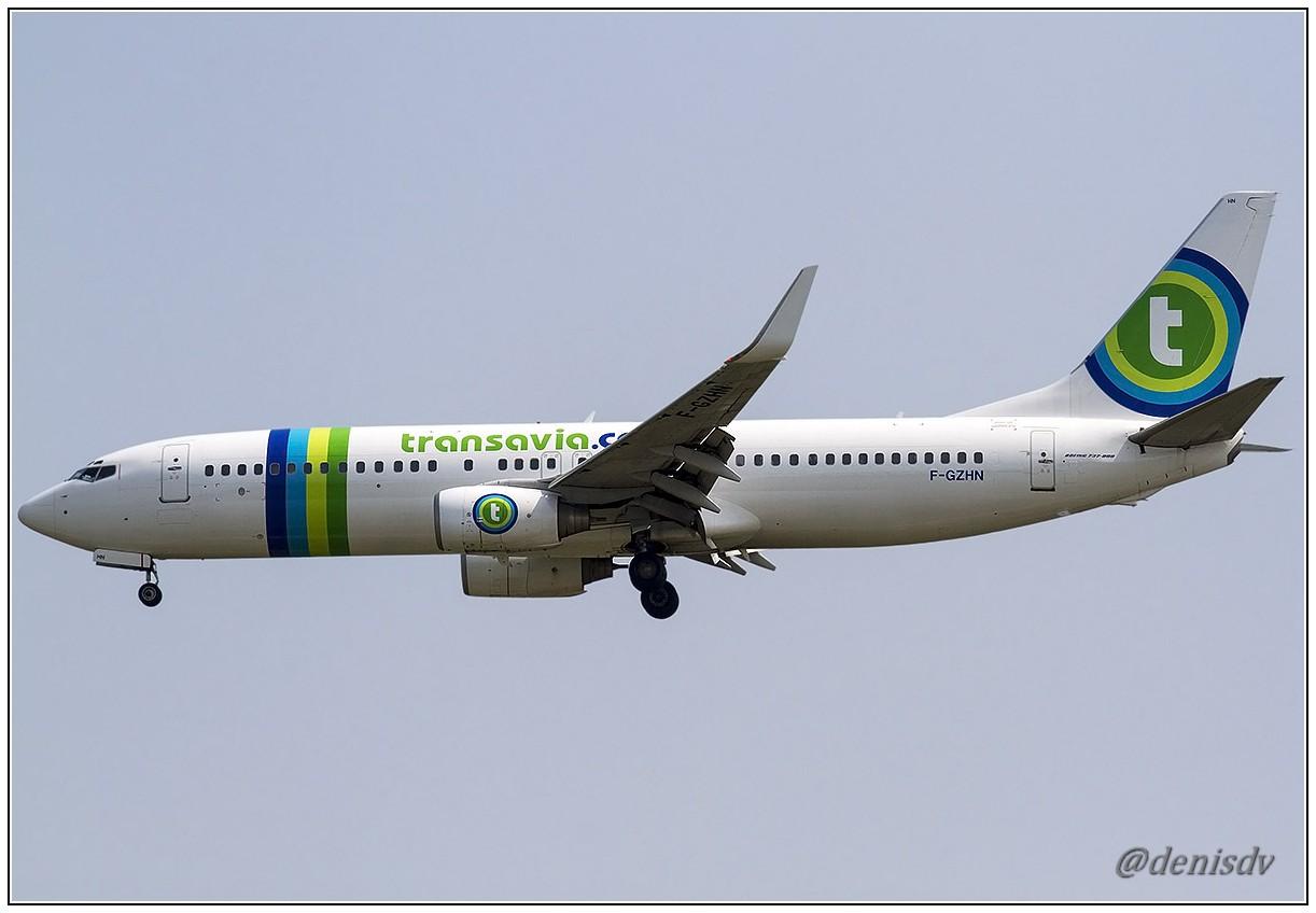 Transavia Airlines Boeing 737-85H F-GZHN (cn 29445/186)