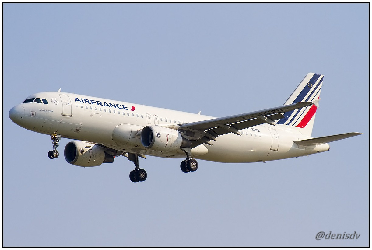 Air France Airbus A320-214 F-HEPB (cn 4241)