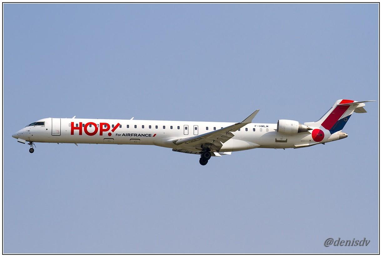 Hop (Air France) Bombardier CRJ-1000EL NG (CL-600-2E25) F-HMLM (cn 19023)