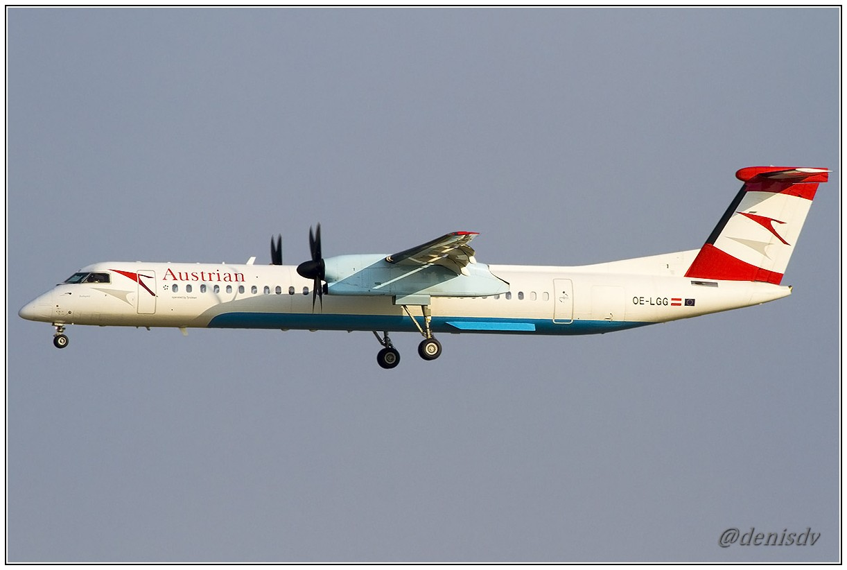 Austrian Arrows  De Havilland Canada DHC-8-402Q Dash 8 OE-LGG (cn 4074)