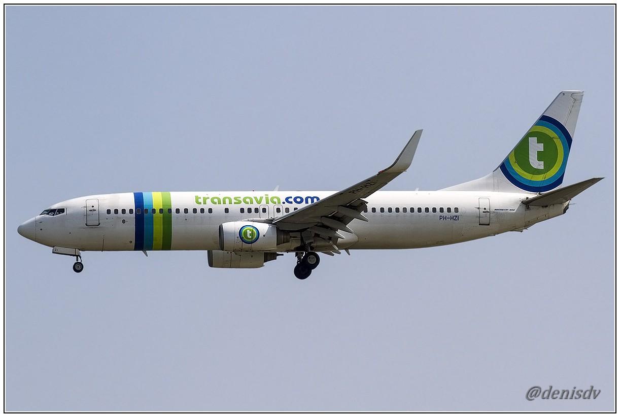Transavia Airlines Boeing 737-8K2 PH-HZI (cn 28380/524)